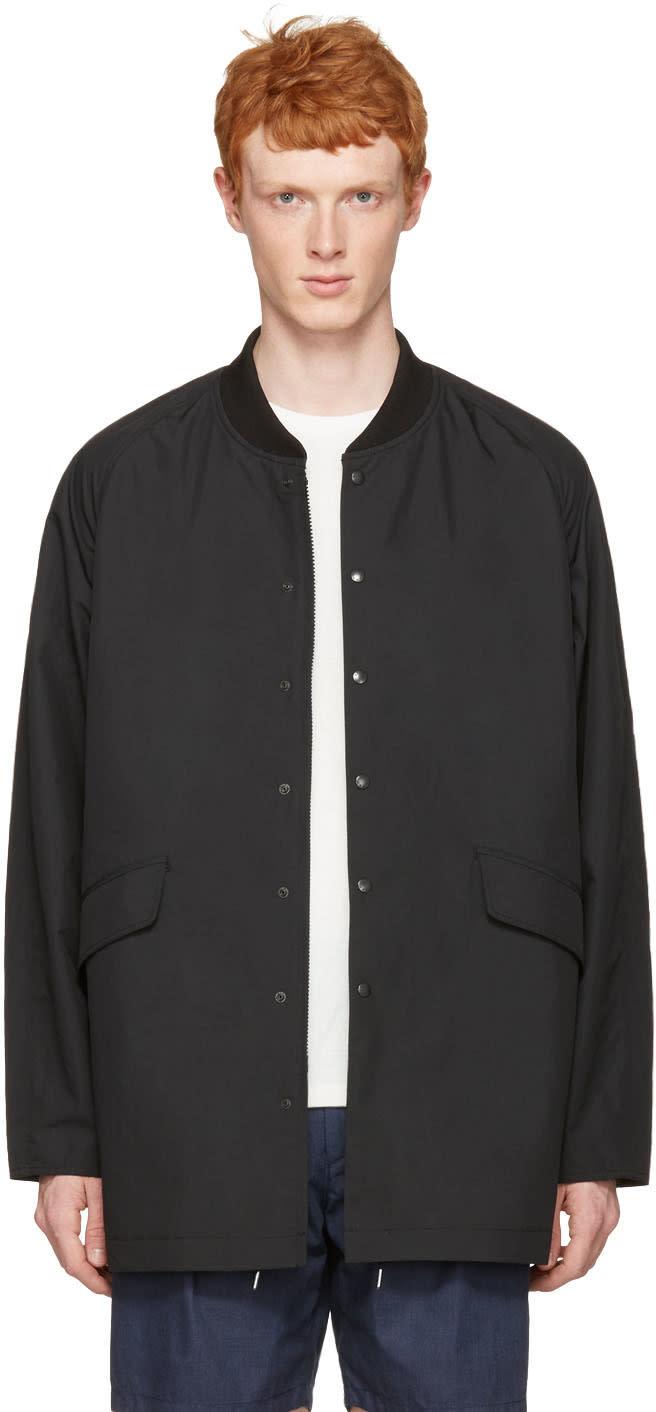 Nanamica Black Ground Coat