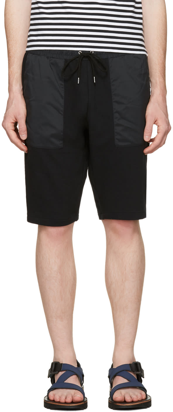 Image of Nanamica Black Sweat Lounge Shorts