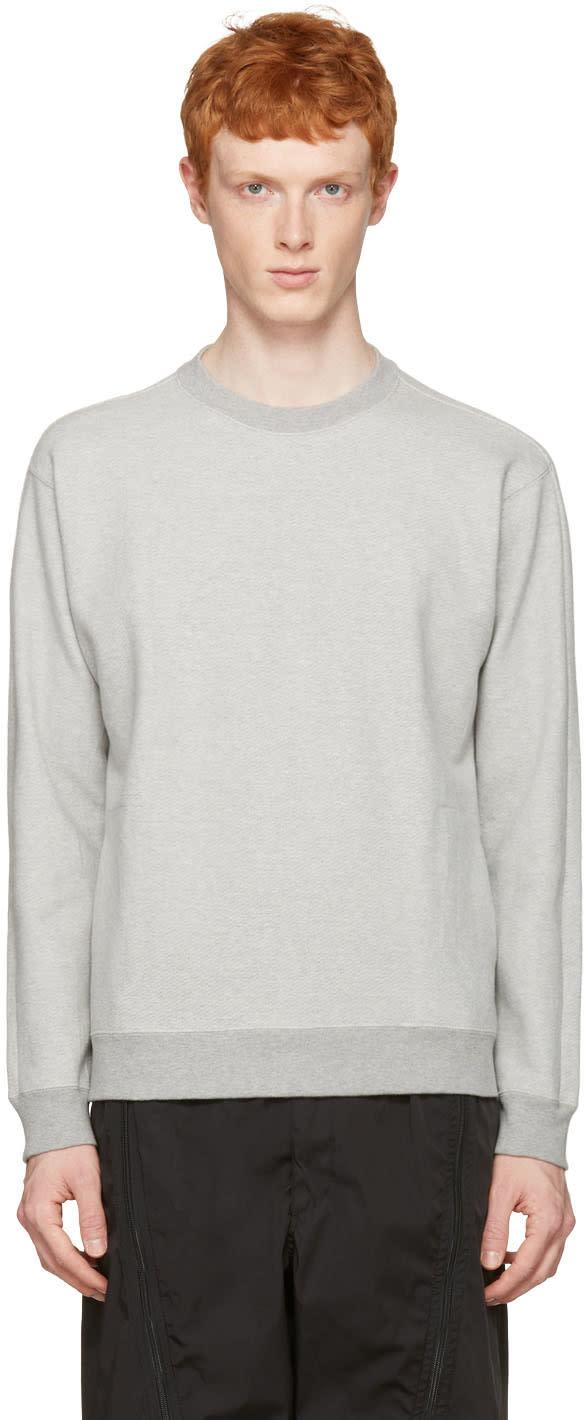 Nanamica Grey Crewneck Pullover