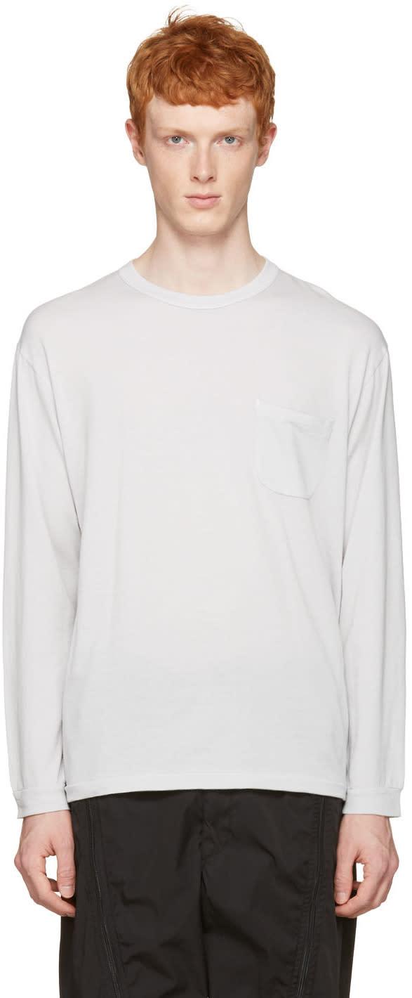 Nanamica Grey Pocket T-shirt
