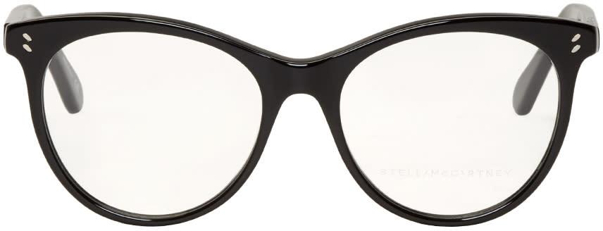 Stella Mccartney Black Cat Eye Glasses