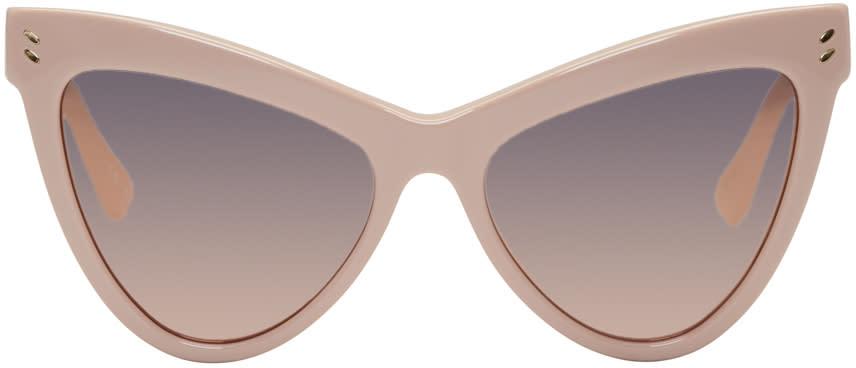 Stella Mccartney Pink Cat-eye Sunglasses