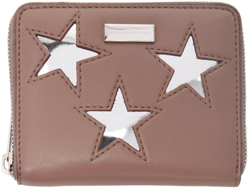 Stella Mccartney Pink Small Star Wallet