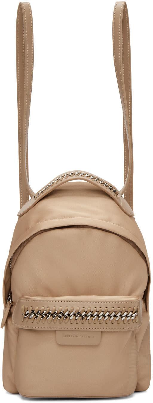 Stella Mccartney Pink Mini Falabella Go Backpack