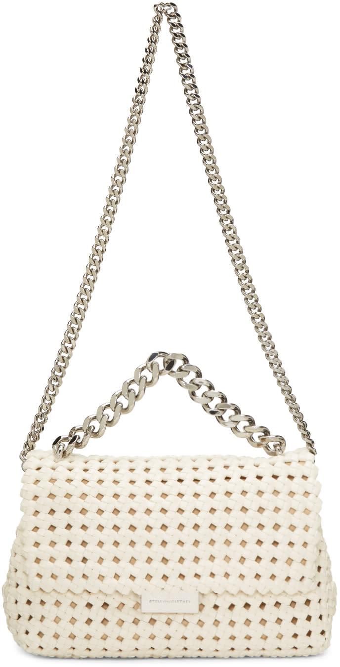 Stella Mccartney Ivory Becks Weaved Bag