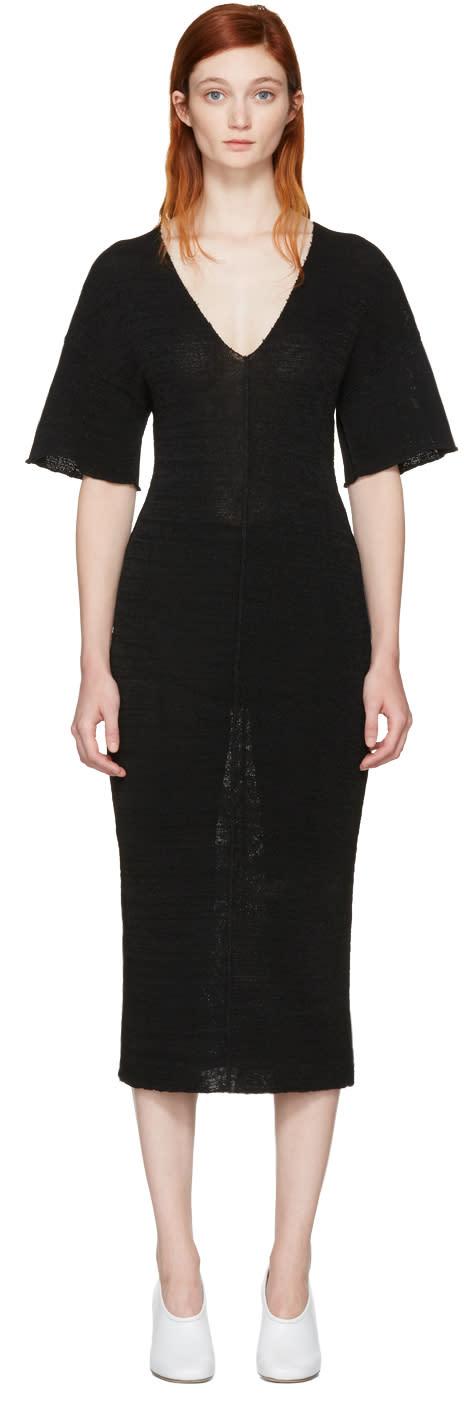 Stella Mccartney Black V-neck Dress