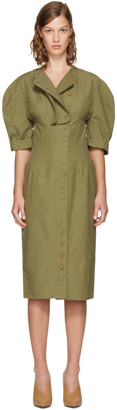 Stella Mccartney Khaki Kathey Dress
