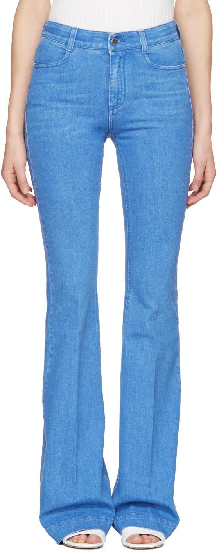 Stella Mccartney Blue 70s Flare Supreme Jeans