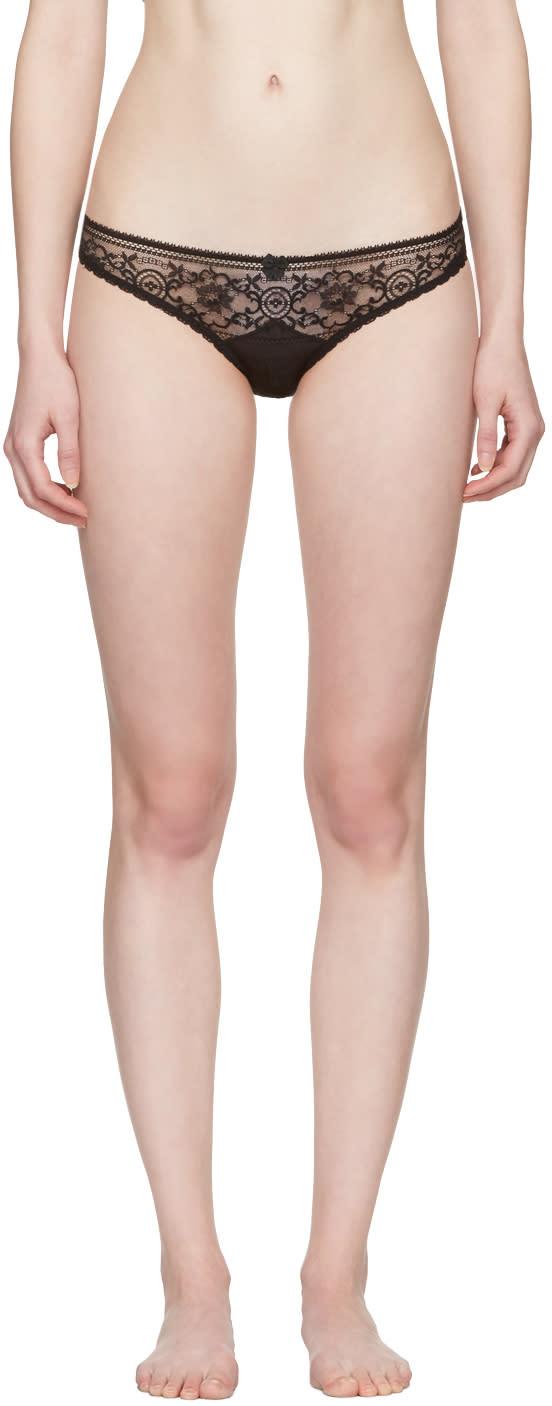 Stella Mccartney Black Ophelia Whistling Bikini Briefs