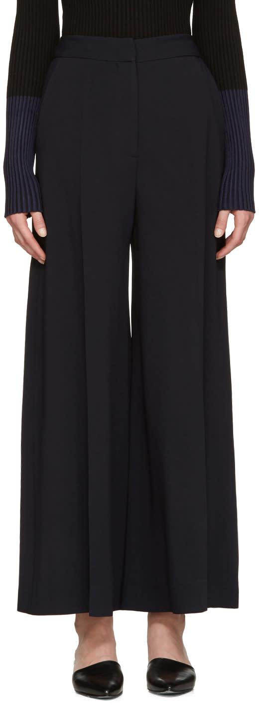 Stella Mccartney Navy Culotte Trousers
