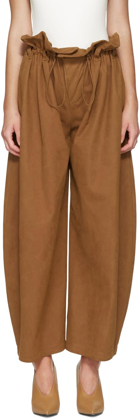 Stella Mccartney Tan Benni Trousers