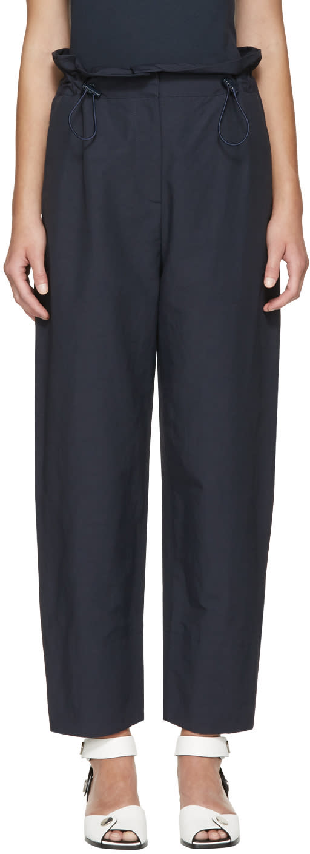 Stella Mccartney Navy Rhea Trousers