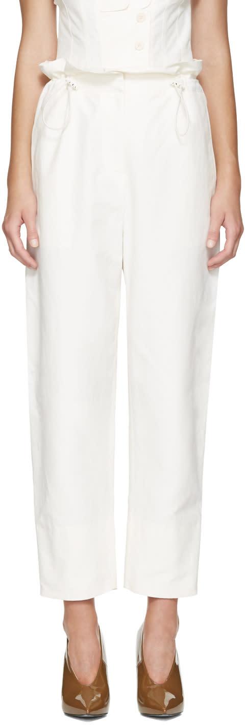 Stella Mccartney Ivory Rhea Trousers