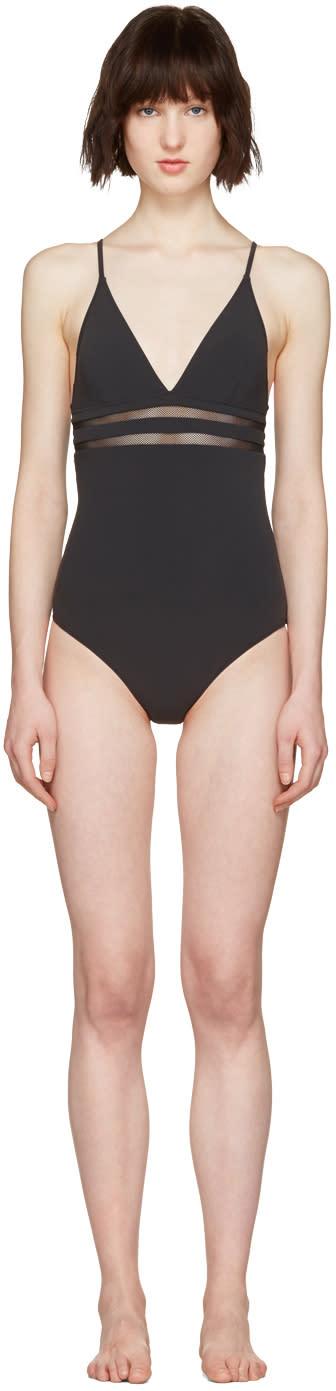 Stella Mccartney Black Timeless Swimsuit