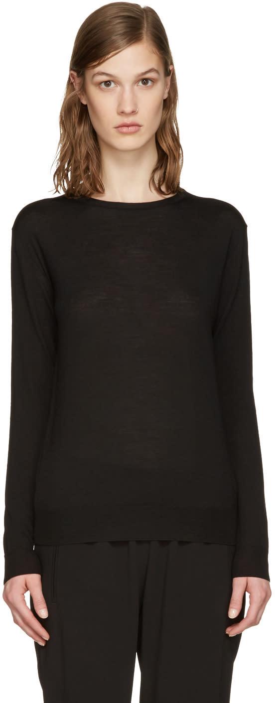 Stella Mccartney Black Wool Pullover