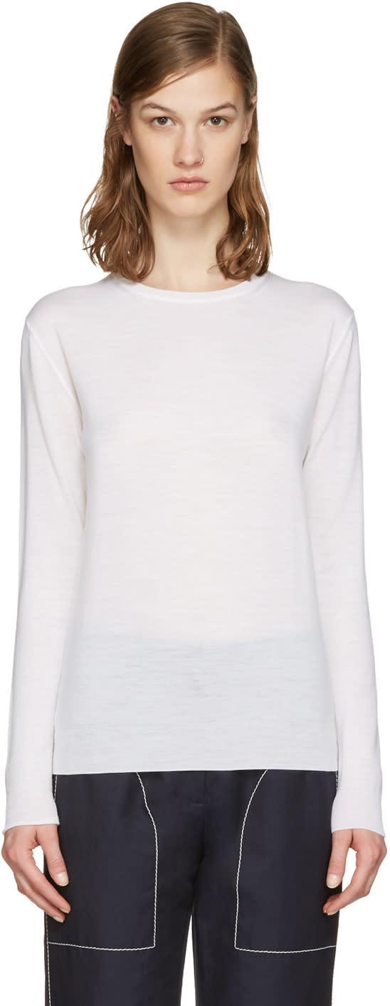 Stella Mccartney Ivory Wool Pullover