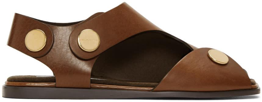 Stella Mccartney Tan Cowper Sandals