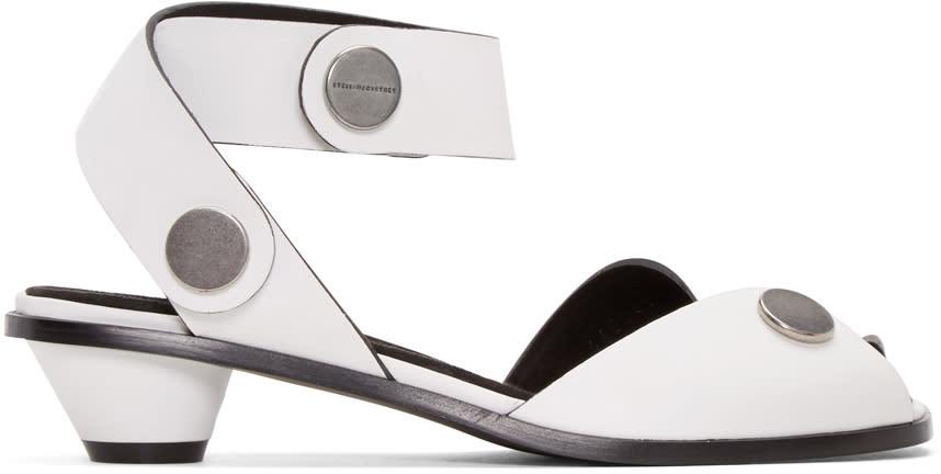 Stella Mccartney White Cowper Sandals