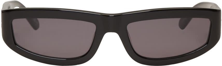 Stella Mccartney Black Rectangular Sunglasses