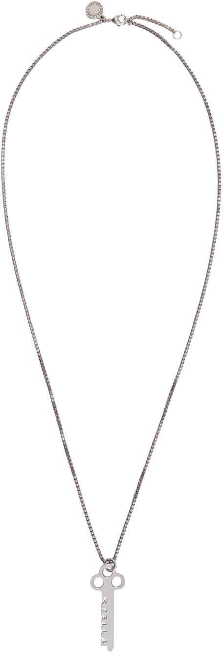 Stella Mccartney Silver Key Necklace