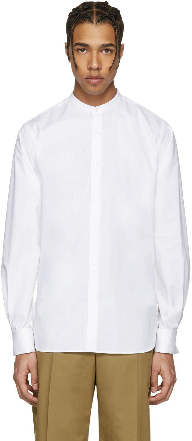 Stella Mccartney White Cotton Poplin Shirt