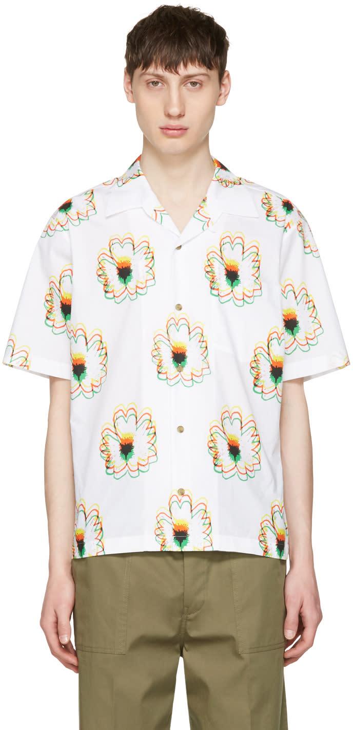 Stella Mccartney White Flower Shirt