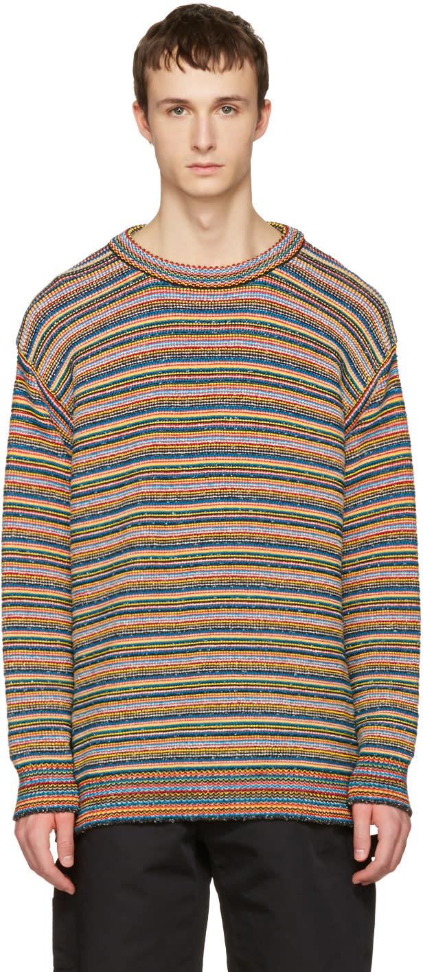 Stella Mccartney Multicolor Knit Striped Sweater