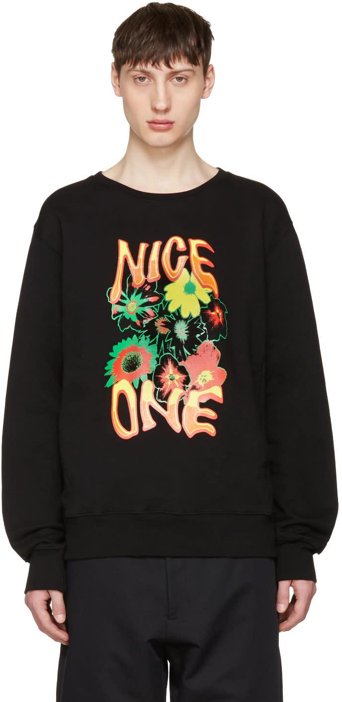 Stella Mccartney Black nice One Sweatshirt