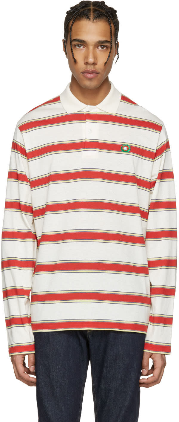Stella Mccartney Multicolor Striped Polo