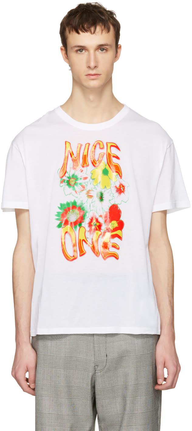 Stella Mccartney White nice One T-shirt