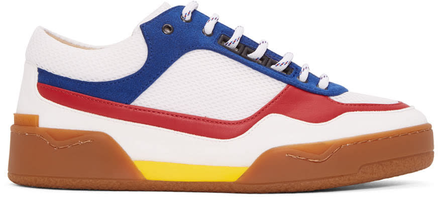 Stella Mccartney Tricolor Colorblock Panelled Sneakers