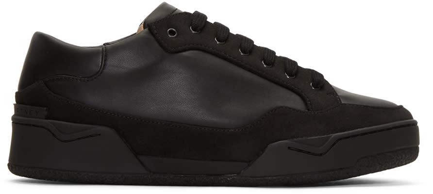 Stella Mccartney Black Panelled Sneakers