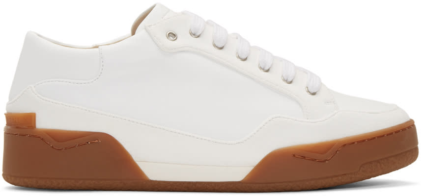 Stella Mccartney White Panelled Sneakers