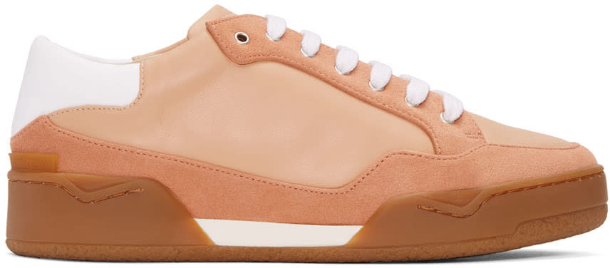 Stella Mccartney Pink Panelled Sneakers