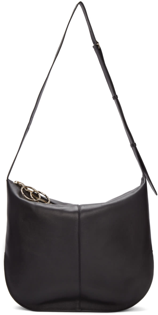 Nina Ricci Black Large Kuti Shoulder Bag