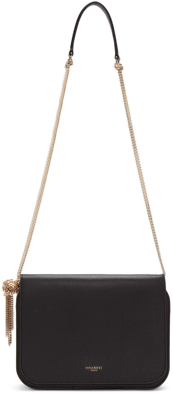 Nina Ricci Black Small Elide Bag