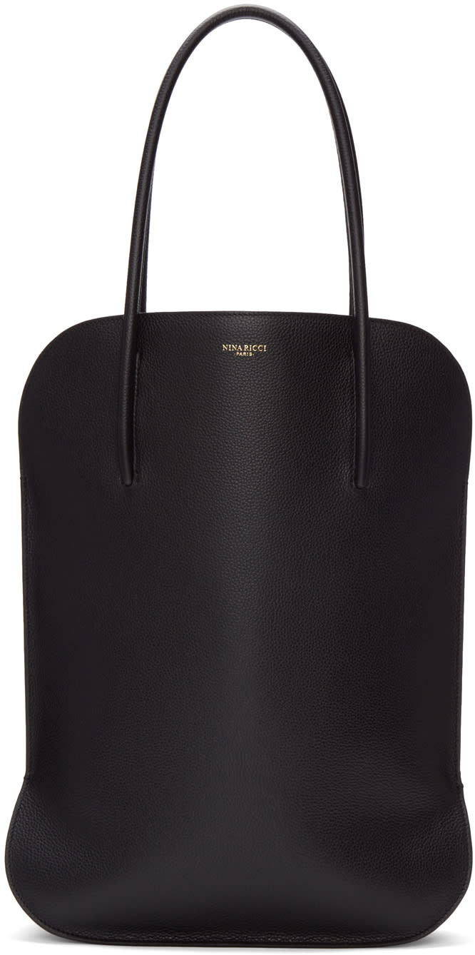 Nina Ricci Black Medium Irrisor Tote Bag