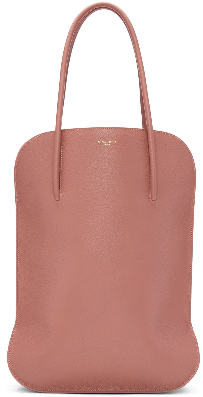 Nina Ricci Pink Medium Irrisor Tote Bag