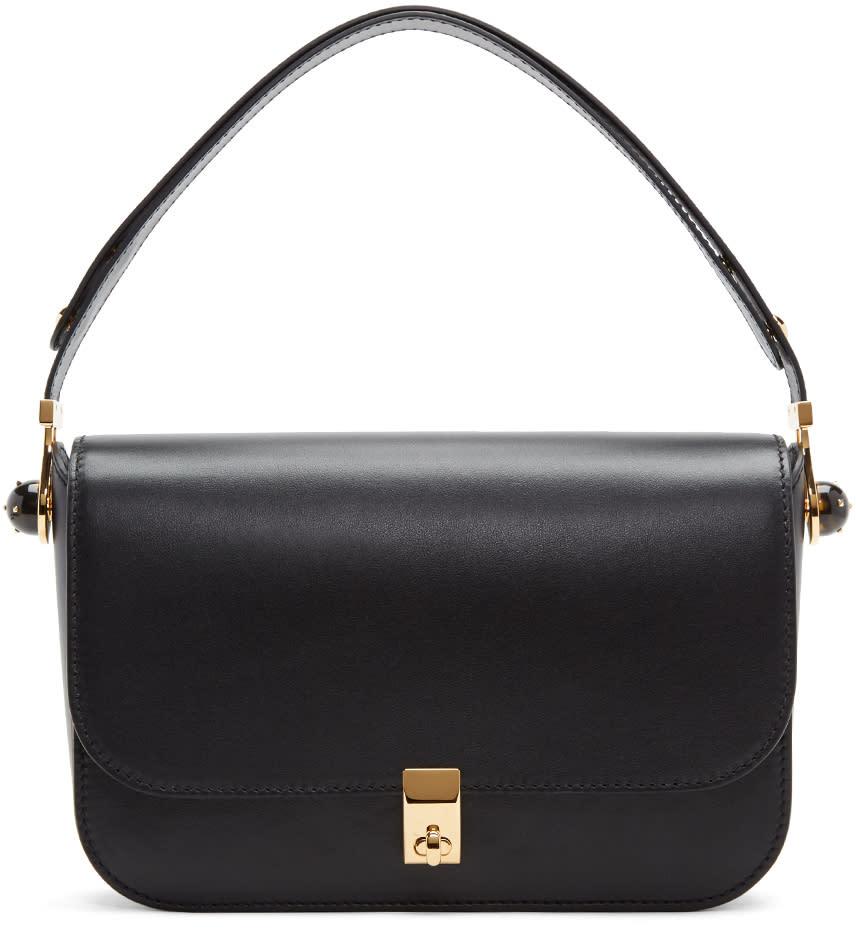 Valentino Black Pierced Stud Bag