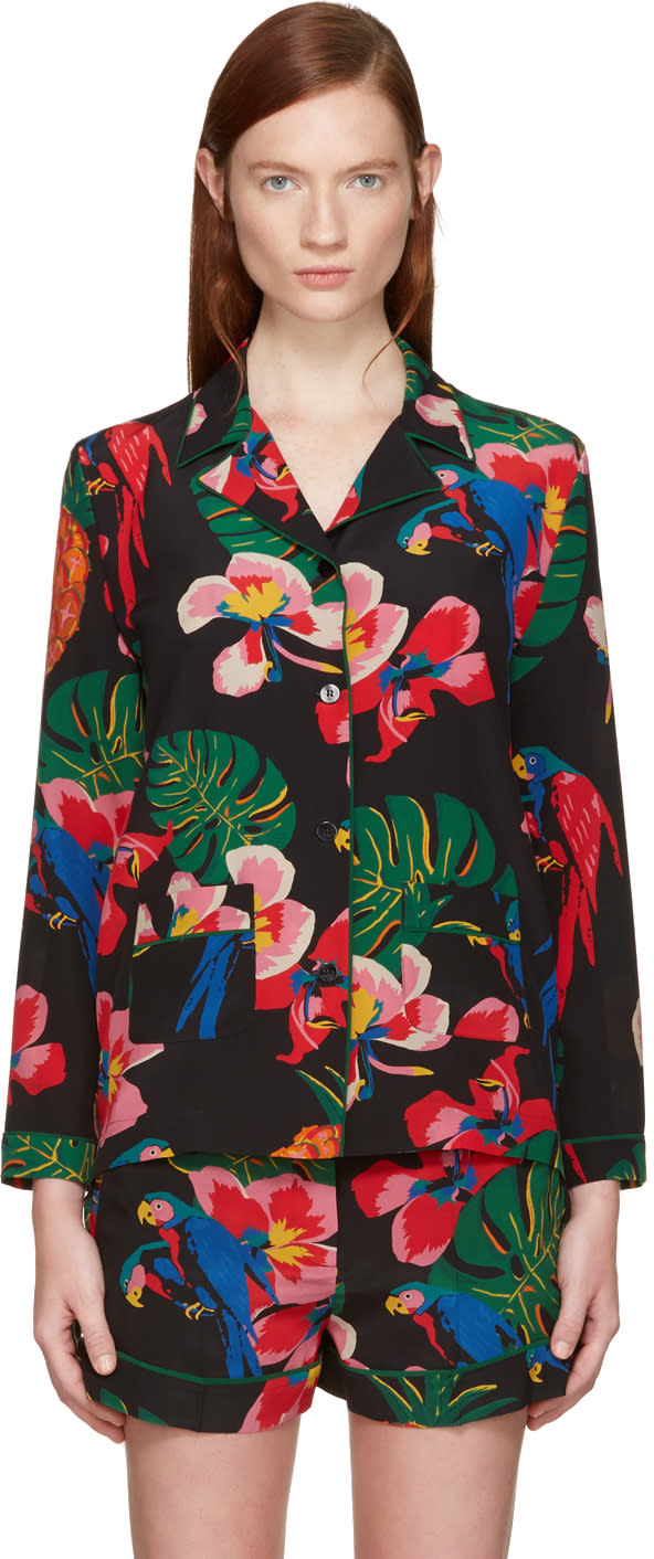 Valentino Multicolor Tropical Dream Shirt