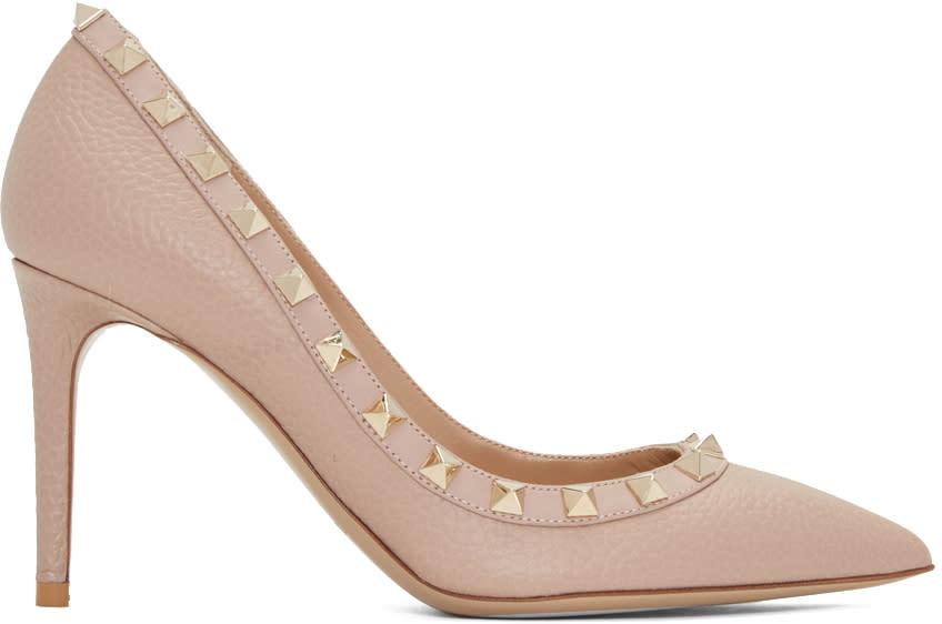 Valentino Pink Rockstud Heels