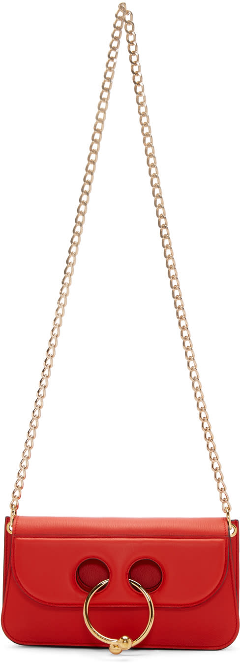J.w.anderson Red Small Pierce Bag