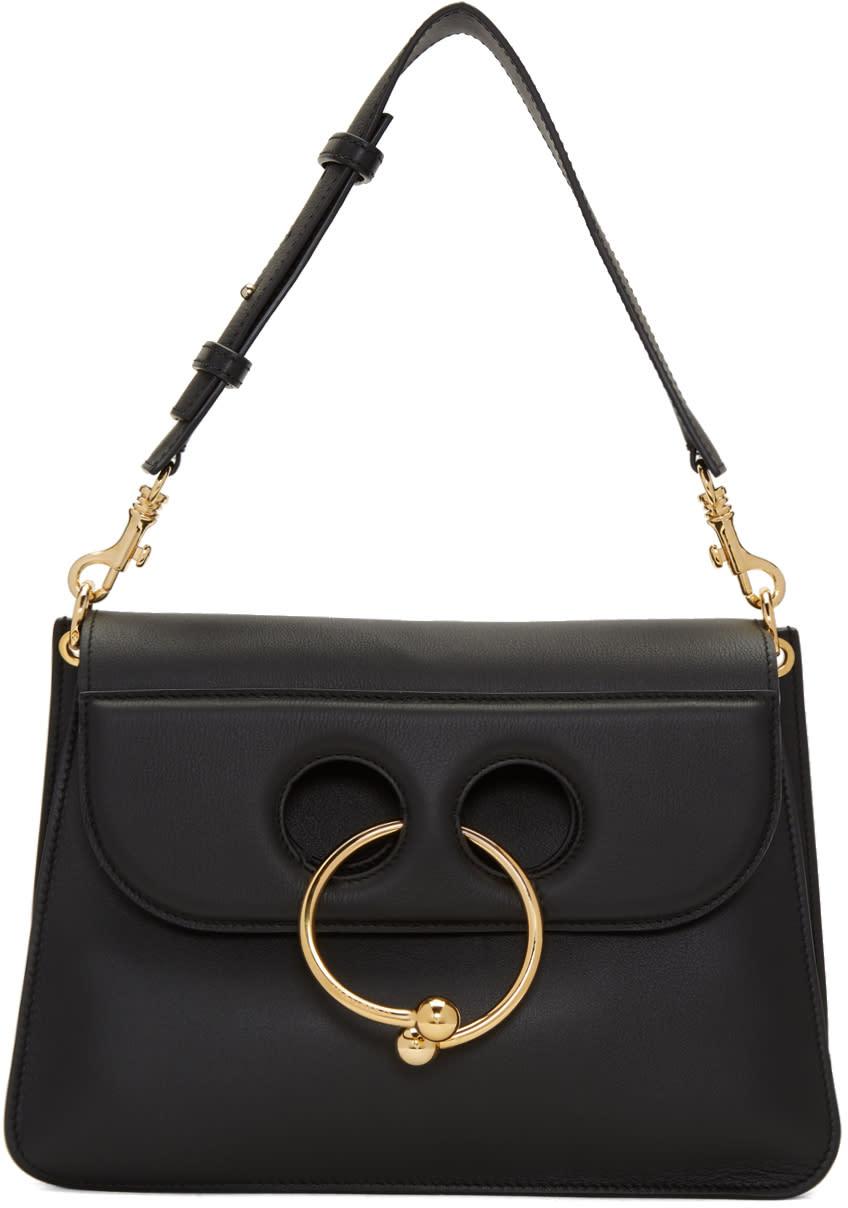 J.w. Anderson Black Medium Pierce Bag