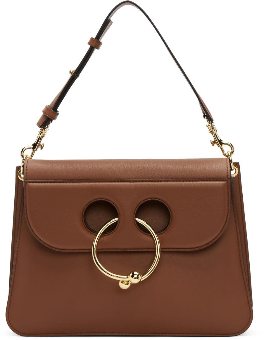 J.w. Anderson Tan Medium Pierce Bag