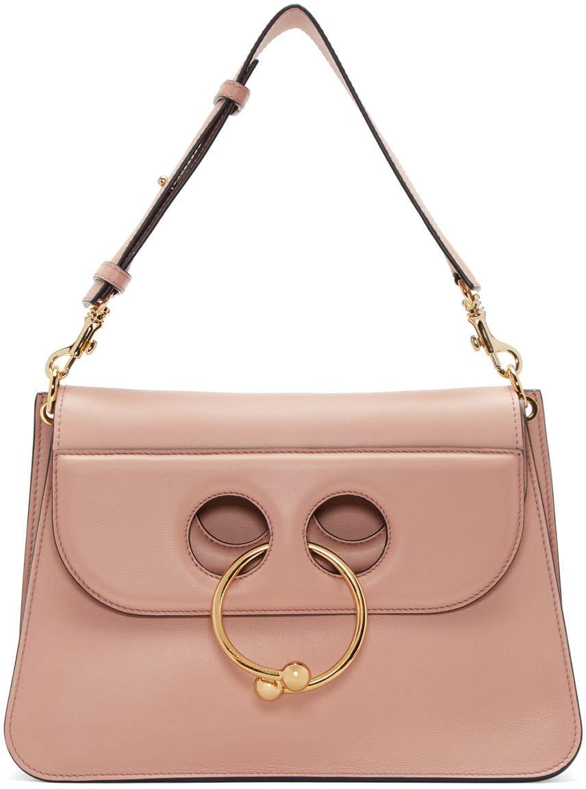 J.w. Anderson Pink Medium Pierce Bag