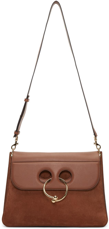 J.w. Anderson Brown Large Pierce Bag