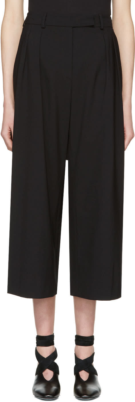 J.w. Anderson Black High-waisted Culottes