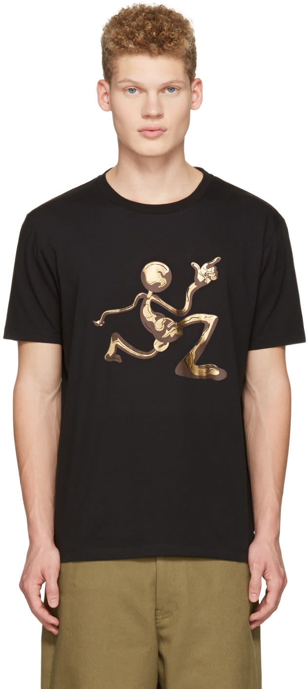 J.w. Anderson Black Mercury Man T-shirt