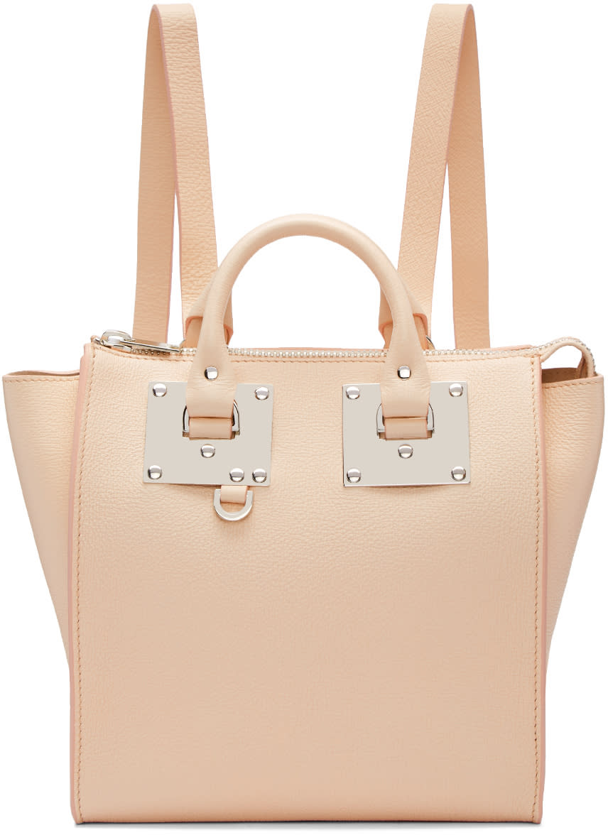 Sophie Hulme Pink Small Holmes Backpack