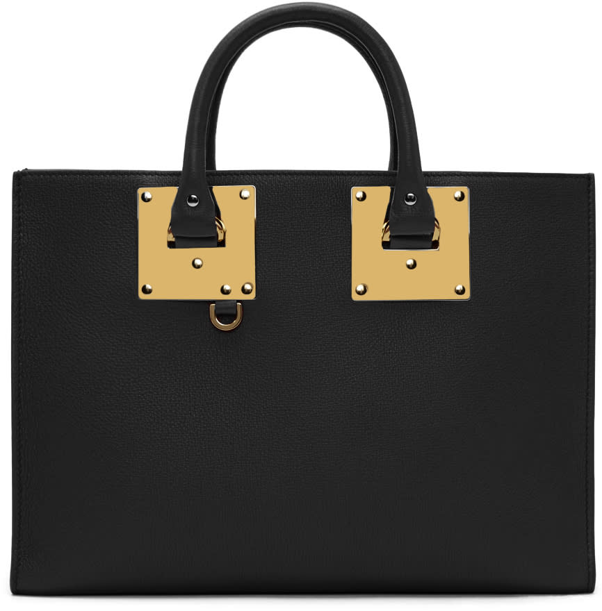 Sophie Hulme Black Albion East West Tote